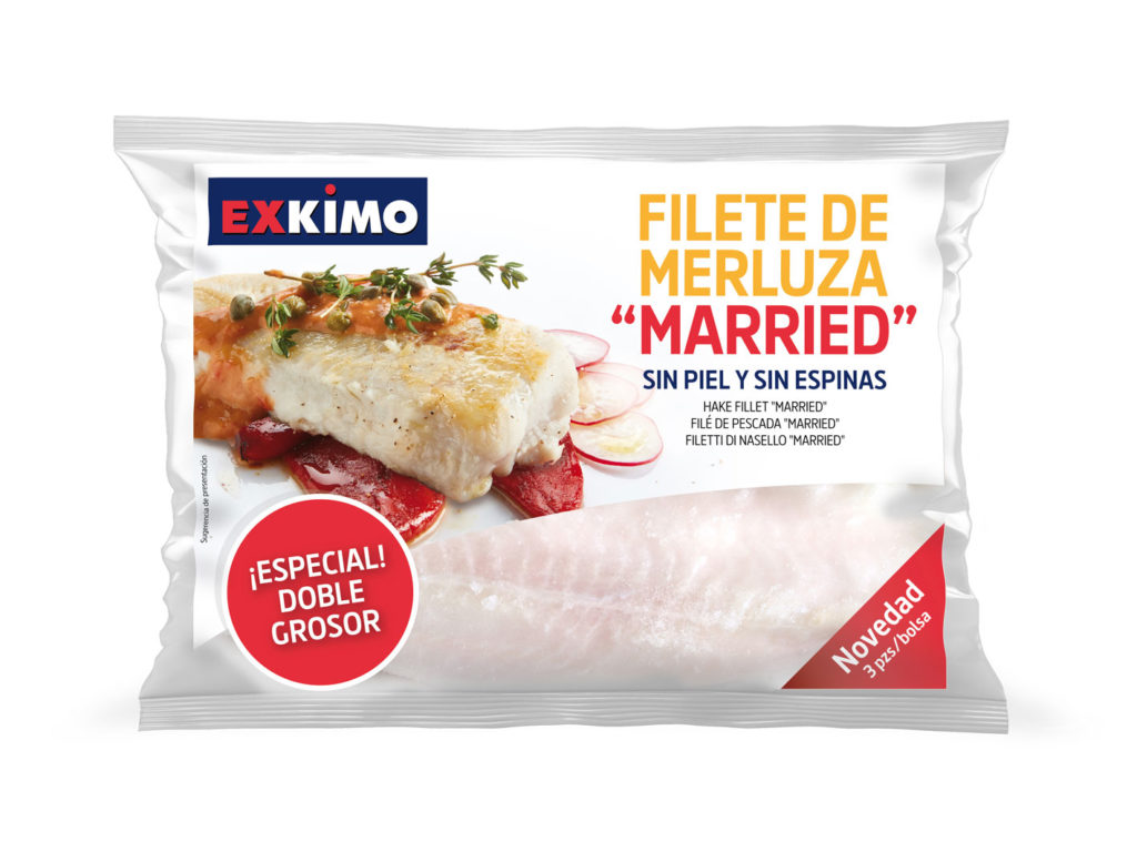 Packagin para Exkimo, Filetes de Meluza Married